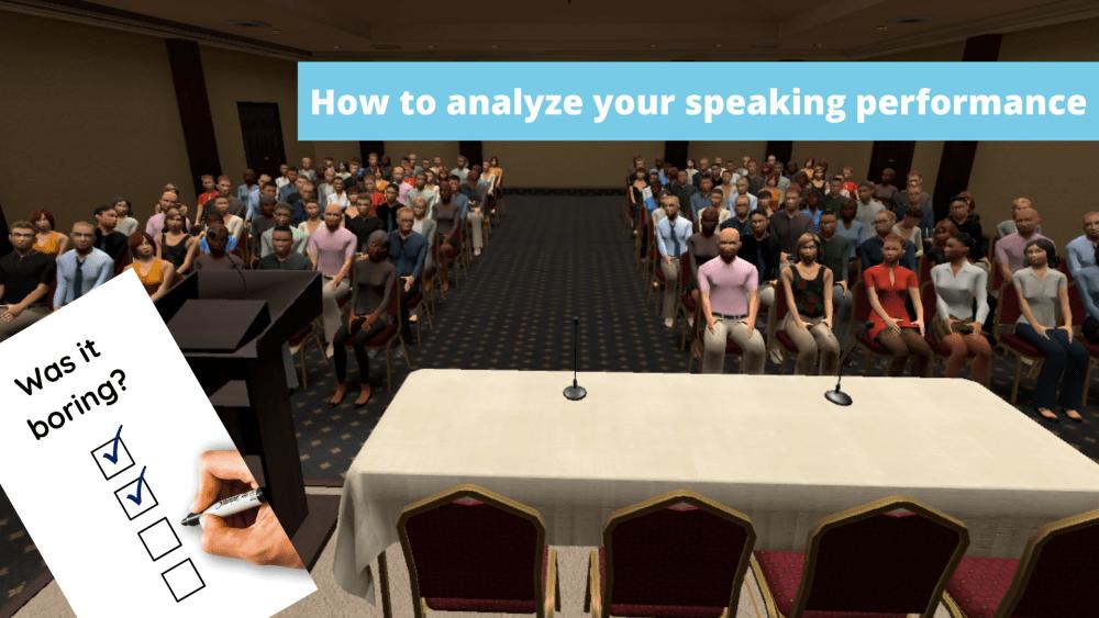speaking performance